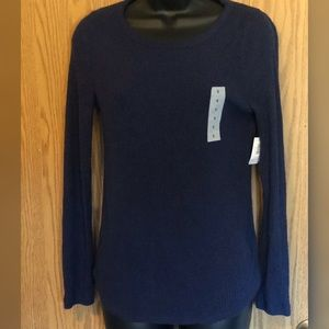 Old Navy Velvety Soft Ribbed Long-sleeved Top